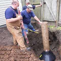 Bigfoot Systems - Pier Footing Tubes - Blue Ridge Lumber Company ...